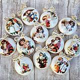 Dekorácie - Vintage vianočné ozdoby - 8797675_