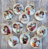 Dekorácie - Vintage vianočné ozdoby - 8797680_