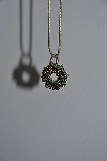 Iné šperky - Prívesok - korálkový donut - 8798673_