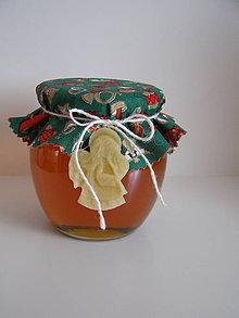 Potraviny - Darčekový medík s voskovou ozdobou - 8799318_