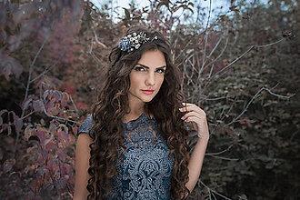 "Ozdoby do vlasov - Elegantná čelenka ""hviezdne nebo"" - 8795714_"