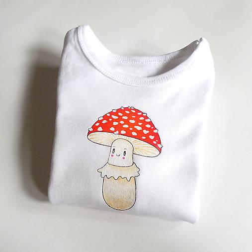 Detské oblečenie - Body muchotrávka - 8737613_