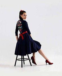 Šaty - Blue Flame - 8800318_