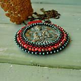 Náhrdelníky - Medallion with Buddha - 8799897_