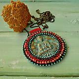 Náhrdelníky - Medallion with Buddha - 8799899_
