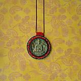 Náhrdelníky - Medallion with Buddha - 8799900_