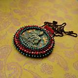 Náhrdelníky - Medallion with Buddha - 8799903_