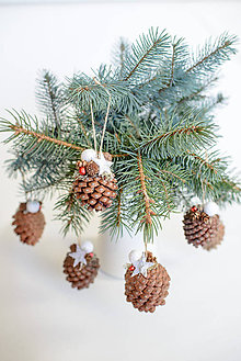 Dekorácie - Vianočné ozdoby - 8804391_