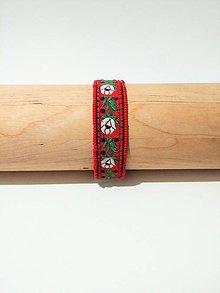 Náramky - Ľudový náramok Zuzanka - 8802948_