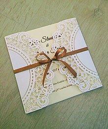 Papiernictvo - Svadobné oznámenie SPOLU - 8801961_