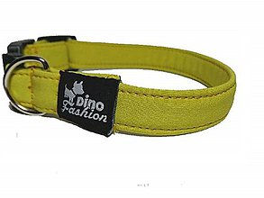 Pre zvieratká - Softshellový obojok žltý - 8802789_