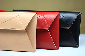 Kabelky - Listová kabelka RED - 8803241_