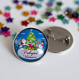 Odznaky/Brošne - Vianočný odznak (5motívov) - 8804610_