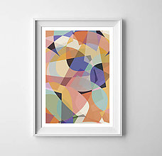 Grafika - Geometrická abstrakcia - 8801145_