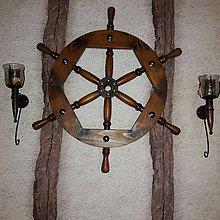 Dekorácie - Namornicke kormidlo 79cm - 8804763_