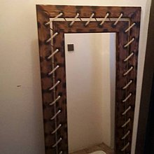 Zrkadlá - Zošívane zrkadlo lanom - 8804835_