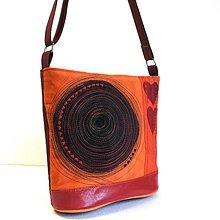 Veľké tašky - Láskavá oranžovka - 8803220_