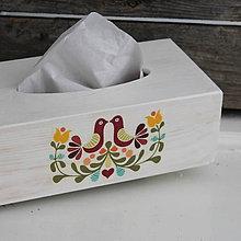 Krabičky - Zásobník Folk Vogel (Kváder) - 8766216_