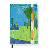 Papiernictvo - Zápisník A5 Peknosti leta - 8800248_