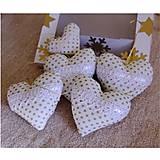 Vianočné dekorácie v darčekovej krabičke (zlatobodkované)