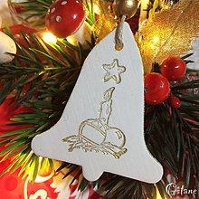 Dekorácie - Vianočné zvončeky 4. - 8802238_