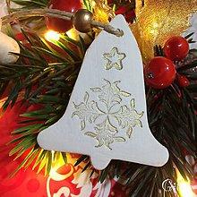 Dekorácie - Vianočné zvončeky 5. - 8802298_