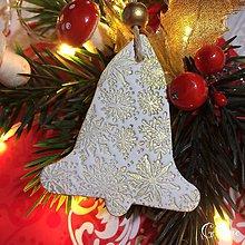 Dekorácie - Vianočné zvončeky 6. - 8802329_