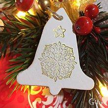 Dekorácie - Vianočné zvončeky 7. - 8802350_