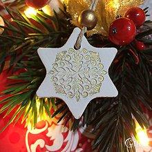 Dekorácie - Vianočné hviezdičky 3. - 8802525_