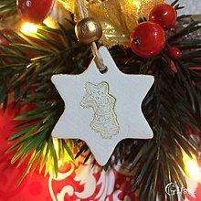 Dekorácie - Vianočné hviezdičky 5. - 8802551_