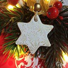 Dekorácie - Vianočné hviezdičky 6. - 8802584_