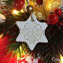 Dekorácie - Vianočné hviezdičky 7. - 8802598_