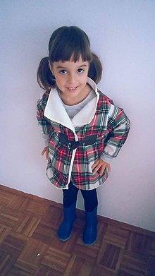Kabáty - Dievčenský kabátik-p - 8801804_