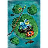 Obrazy - Žabí princ - ilustrácia, reprodukcia,plagát - 8696727_