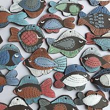 Dekorácie - Vianočné rybenky - 8807245_