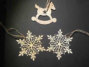 Materiál ručne robený - Vianočné ozdoby - trio - - 8809754_