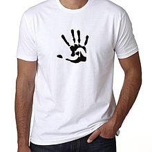 Oblečenie - Pánské tričko Hand in love - 8806994_
