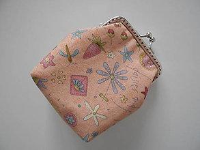 Peňaženky - Oranžová peňaženka - 8810699_