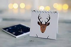 Papiernictvo - Sada vianočných zápisníkov - 8809499_