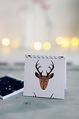 Papiernictvo - Sada vianočných zápisníkov - 8809501_
