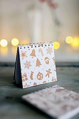 Papiernictvo - Sada vianočných zápisníkov - 8809519_