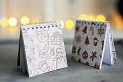 Papiernictvo - Sada vianočných zápisníkov - 8809521_