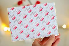 Papiernictvo - Scrapbook vianočná obálka na peniaze - 8809544_