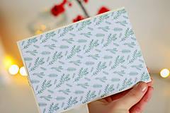 Papiernictvo - Scrapbook vianočná obálka na peniaze - 8809581_