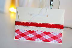 Papiernictvo - Scrapbook vianočná obálka na peniaze - 8809612_