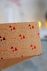 Papiernictvo - Vianočná pohľadnica Natur - 8809661_