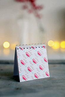 Papiernictvo - Vianočný zápisníček *1 - 8809424_