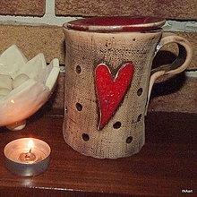 Svietidlá a sviečky - Aromalampa - 8810044_
