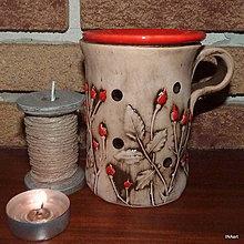 Svietidlá a sviečky - Aromalampa - 8810097_