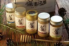 Potraviny - darčekové balenie 5 medov - 8807799_